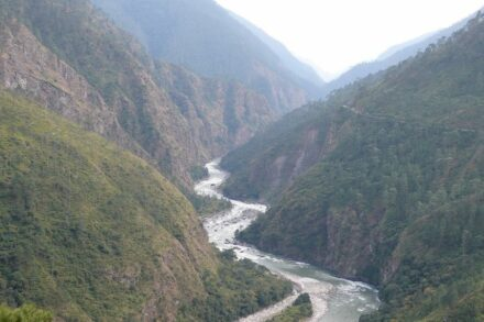 The Bhutan Himalaya is a land of extremes with rugged topography, dissecting low-relief uplands, rainfall that ranges from 0.7 to 6 m/year and erosion rates that vary by more than 2 orders of magnitude. Source: A. Heimsath/ASU