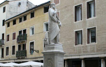 Statue of Andrea Palladio in Vicenza.