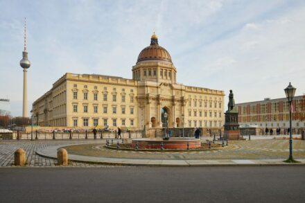 Das neue Berliner Schloss, Sitz des Humboldt Forums. Foto: SHF / Christoph Musiol