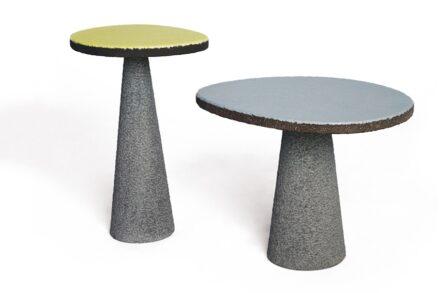 "Emmanuel Babled: ""Etnastone Guéridon"" table."