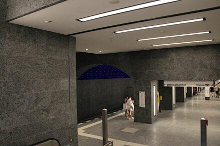 Der U-Bahnhof Museumsinsel. Foto: Peter Becker