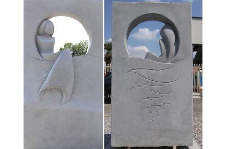 "Simona de Lorenzo: ""Siren"", sandstone, 2016."