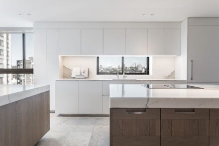 Arclinea: Kitchen in a residential house in a suburb of Sydney, Australia.