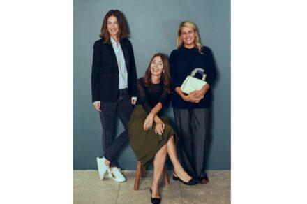 """""""Le Tre Signore di Milano"""" (The Three Women from Milan, f.l.t.r.): Sara Ferrero, Alessandra Malagoli Budri and Patrica Urquiola."""
