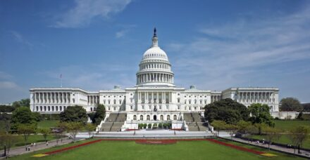 Die Westseite des Kapitols in Washington DC. Foto: Architect of the Capitol / Wikimedia Commons