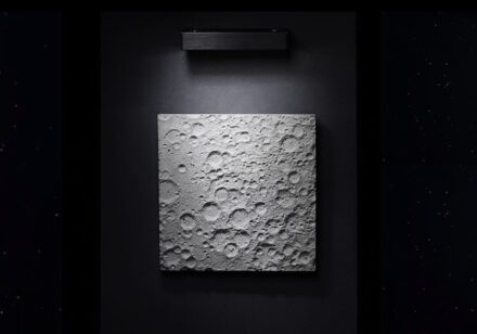 DeskX: the back of the Earth's moon in Portland Zement. Photo: DeskX