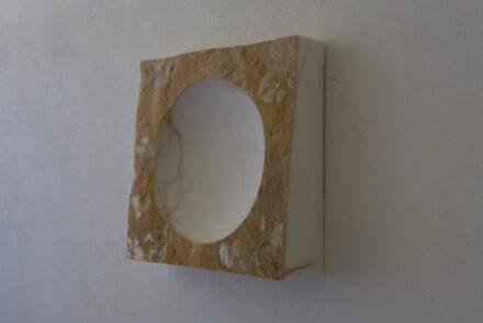 """William Peers: """"Dish II"""" (Wall Hang Sculptures)."""