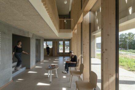 Studiolada: health care building in Audun-le-Roman.