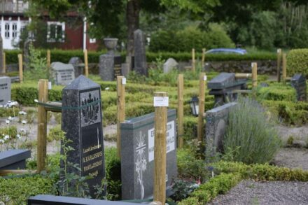 View of a cemetery in Sweden. Photo: Association