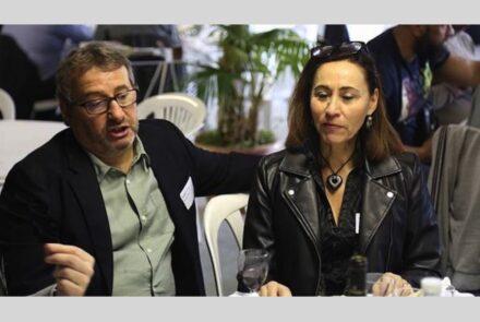 Claude Gargi und Corinne Berger. Foto: Jacques Thibaut