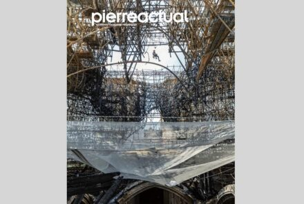 Pierre Actual's issue 999 with a report about the successful removal of the scaffolding destroyed by fire at Notre Dame Cathedral.
