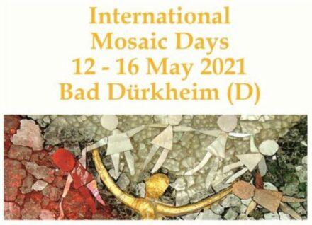 Das Plakat der Internationalen Mosaiktage 2021.