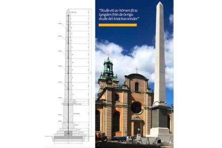 Der Slottsbacken Obelisk.