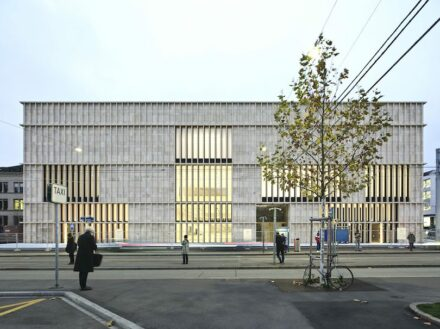David Chipperfield Architects: extension for the Kunsthaus Zürich.