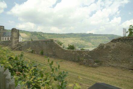Teil der Stadtmauer von Oberwesel.