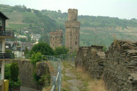 Teil des Rundwegs über die Stadtmauer.