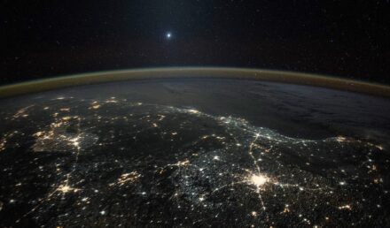 Venus shining bright on a photo captured from the International Space Station on December 05, 2015. Photo: NASA/JAXA