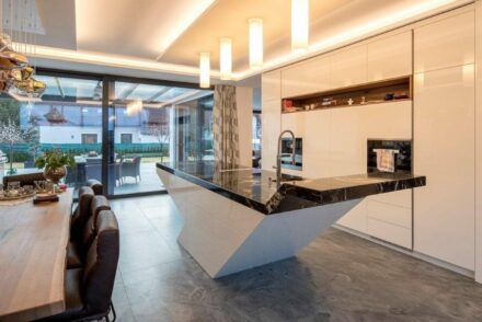 Dream job for stonemason Egger: Villa in Murau in Styria.