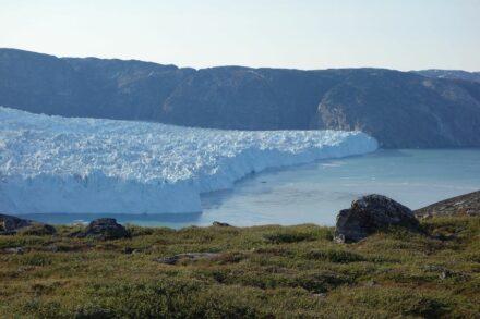 Luftaufnahme des Store-Gletschers. Foto: AWI