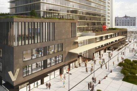 Das Manhattan Center in Brüssel nach dem Umbau. Quelle: Levantina