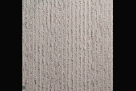 Mainsandstein, weiß-grau, lines split.