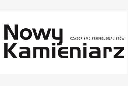 Logo of Nowy Kamieniarz magazine.