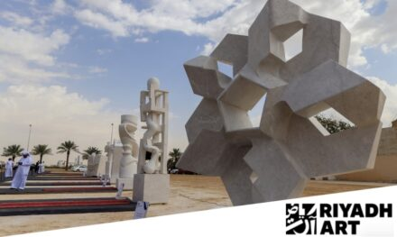 Screenshot of Riyadh Art's webpage.