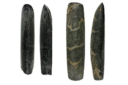 Tools found in male graves used during their lifetime for wood working. Source: Universtiy of York