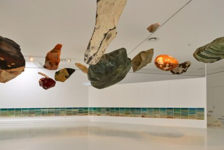 Stones to float by Hannes Ludescher. Photo: Barbara Bühler