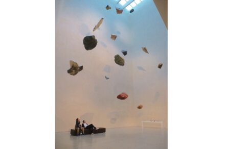 Stones to float by Hannes Ludescher.