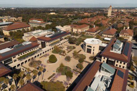 Das Science and Engineering Quad der Stanford University.