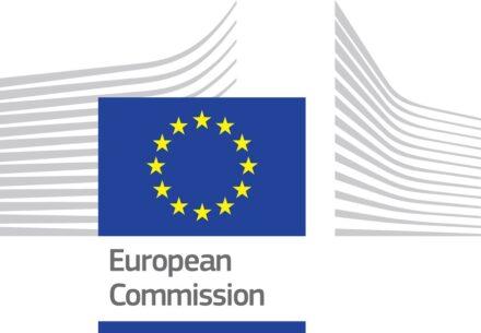 Das Logo der EU-Kommission.