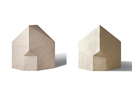 """Patricia Urquiola, Salvatori: """"Alma"""" (links), """"Petra"""" (rechts), aus """"The Village""""."""