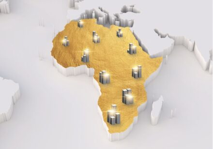 Cover of the Africa Wealth Report 2021.