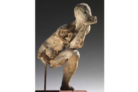 """Auguste Rodin, Studie zu """"Der Denker"""", 1881, Musée Rodin."""