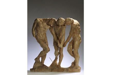 """Auguste Rodin, """"Die Drei Schatten"""", vor 1886, Musée Rodin."""