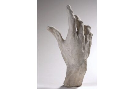 """Auguste Rodin, """"Right hand of Pierre and Jacques de Wissant"""", 1885–86 Musée Rodin."""