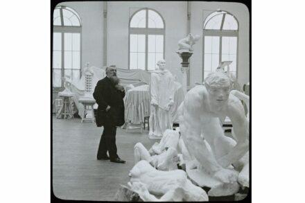 Jules Richard: Rodin im Atelier. Musée Rodin.