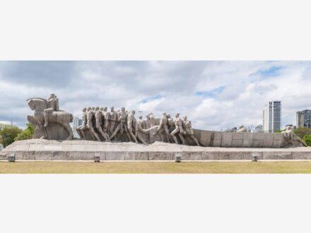 "Victor Brecheret: ""Monumento às Bandeiras"". Photo: Wilfredor / Wikimedia Commons"