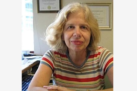 Xanthippi Markenscoff is a distinguished professor in the Department of Mechanical and Aerospace Engineering at the University of California San Diego Jacobs School of Engineering. Source: private