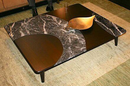 Funktional und deshalb verkäuflich: Tisch der italienischen Firma Bamax.