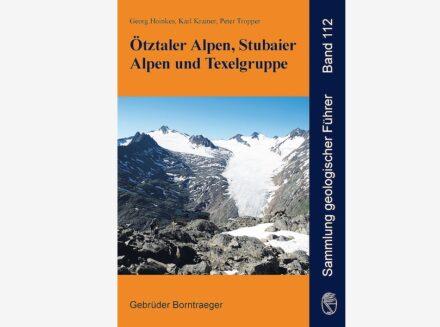 """Der überarbeitete Geologische Führer """"Ötztaler und Stubaier Alpen""""."""