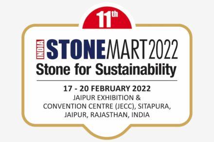 Logo of India Stonemart 2022.
