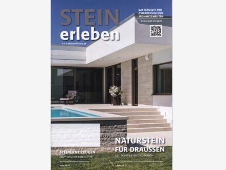 """Magazin """"Stein Erleben"""" (1/2021)."""