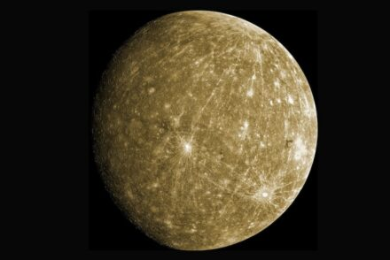 Mercury from Nasa's Messenger mission, simulated color by Jason Harwell / Wikimedia Commons