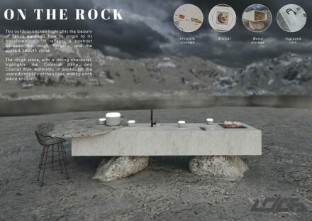 Winner Architecture Category: ON THE ROCK by Manon Capel.