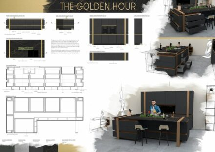 Winner Architecture Category: The Golden Hour by Robin Kavalirek.