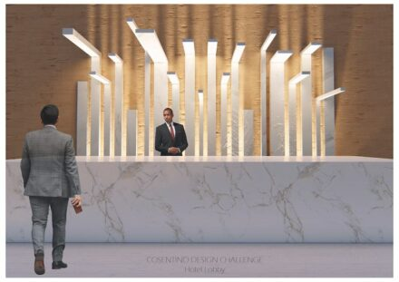 Winner Design Category: Hotel lobby by Ignacio Rivera.