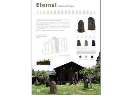 Winner Design Category: Eternal, memorial stone by Carmen Amigo Vega, Víctor González Castellanos, Celia Hernández Feijóo.