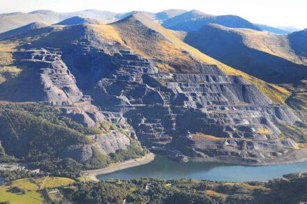Dinorwig Slate Quarry Mountain Landscape. Photo: RCAHMW